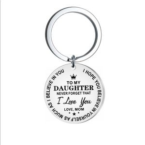 Accessories - Inspirational daughter keychain